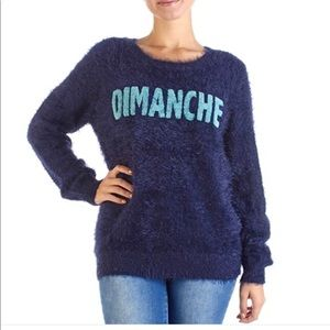 Romeo +Juliet Couture Dimanche Sweater